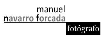 manuel navarro forcada, fotógrafo logo